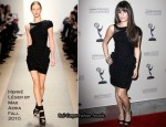 "An Evening With ""Glee"" - Lea Michele In Hervé Léger by Max Azria"