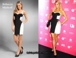 In Paris Hilton's Closet - Rebecca Minkoff Claudia Black & White Dress