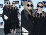 """Lend Me A Tenor"" Broadway Opening Night - Mary-Kate Olsen & Ashley Olsen"
