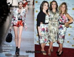 2010 Matrix Awards - Tina Fey & Sheryl Crow In Dolce & Gabbana