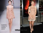 """A Nightmare On Elm Street"" LA Premiere - Rooney Mara In Alberta Ferretti"