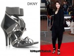 In Gemma Arterton's Closet - DKNY Elena Strappy Sandals