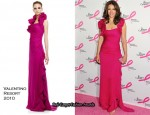 2010 Breast Cancer Research Foundation's Hot Pink Party - Elizabeth Hurley In Valentino