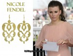 In Coleen Rooney's Closet - Nicole Fendel Bell Earrings