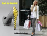 In Julianne Hough's Closet - Rock & Republic Lotus Platform Pumps