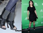 """A Bid To Save The Earth Green Auction"" - Salma Hayek In Balenciaga"