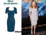 In Scarlett Johansson's Closet - RM by Roland Mouret Artemis Dress
