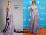 2010 Academy of Country Music Awards Red Carpet – Taylor Swift In Marchesa