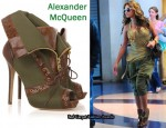 In Beyonce Knowles' Closet - Alexander McQueen Fold-Over Boots