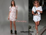 In Beyonce Knowles' Closet - Pencey Cherry Blossom Dress