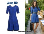 In Camilla Belle's Closet - Jason Wu Snakeskin Effect Dress