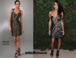 In Cassie's Closet - Brian Reyes Draped Dress