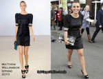 Ladies' Day At Aintree Racecourse - Coleen Rooney In Matthew Williamson