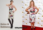 In Sheryl Crow's Closet - Dolce & Gabbana Floral Jacquard Dress
