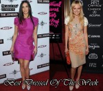 Best Dressed Of The Week - Demi Moore In Marchesa & Malin Akerman In Miu Miu