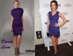 In Kate Beckinsale's Closet - Derek Lam Draped Dress