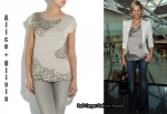 In Jenni Falconer's Closet - Alice + Olivia Sequined Top