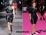 """The Back-Up Plan"" London Premiere - Jennifer Lopez In Lanvin"