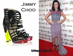 In Katy Perry's Closet - Jimmy Choo Zappa Suede Sandals