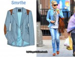 In Kate Hudson's Closet - Smythe Wool Equestrian Blazer