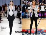Runway To The Philips Arena - Keri Hilson In Givenchy
