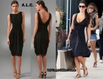In Kim Kardashian's Closet - A.L.C. Drape Dress