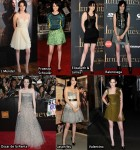 "Which Was Your Favourite Kristen Stewart ""The Twilight Saga: New Moon"" Promotional Tour Look?"