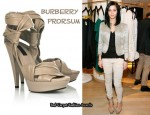 In Leigh Lezark's Closet - Burberry Prorsum Leather Platform Sandals