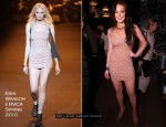 NYLON Magazine's 11th Anniversary Party - Lindsay Lohan In Erin Wasson x RVCA