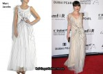 In Christina Ricci's Closet - Marc Jacobs Ruffle Silk-Tulle Dress