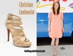 In Julianna Moore's Closet - Christian Louboutin Fernando Leather Sandals