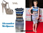 In Sammy Winward's Closet - Alexander McQueen Dress & YSL Heels