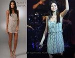 In Selena Gomez' Closet - Alice + Olivia Gabby Embellished Dress