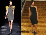 """""""The Losers"""" Portrait Session - Zoe Saldana In RM by Roland Mouret"""