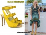 In Naomi Watts' Closet - Stella McCartney Cage-Effect Satin Sandals