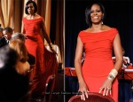 2010 White House Correspondents' Association Dinner - Michelle Obama In Prabal Gurung