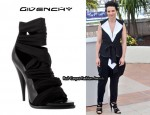 In Juliette Binoche's Closet - Givenchy Open Toe Sandals