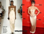2010 Time 100 Gala – Lea Michele In Oscar de la Renta