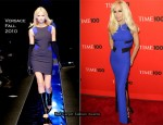 2010 Time 100 Gala - Donatella Versace In Versace