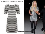In Paris Hilton's Closet - French Connection Striped Dress