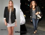 In Eva Longoria's Closet - Smythe Sharp Shoulder Blazer