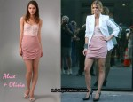 In AnnaLynne McCord's Closet - Alice + Olivia Roxanne Bustier Dress