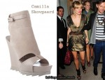 In Sienna Miller's Closet - Camilla Skovgaard Cut-Out Platform Wedge Boots