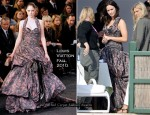 Runway To Photo Shoot - Emily Blunt In Louis Vuitton