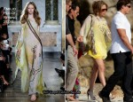 Runway To The French Riviera - Jennifer Lopez In Emilio Pucci