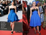 """2010 Cannes Film Festival: """"Wall Street: Money Never Sleeps"""" Premiere - Sandrine Bonnaire In Alexis Mabille Couture"""