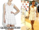 In Coleen Rooney's Closet - Alice by Temperley Mini Tiddles White Lace Dress
