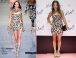 """Must Magazine Awards"" - Ana Fernandez In Blumarine"