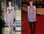 2010 Met Costume Institute Gala – Carey Mulligan In Miu Miu