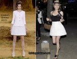 Karl Lagerfeld 'Remember Now' Short Film Presentation Party - Diane Kruger In Chanel